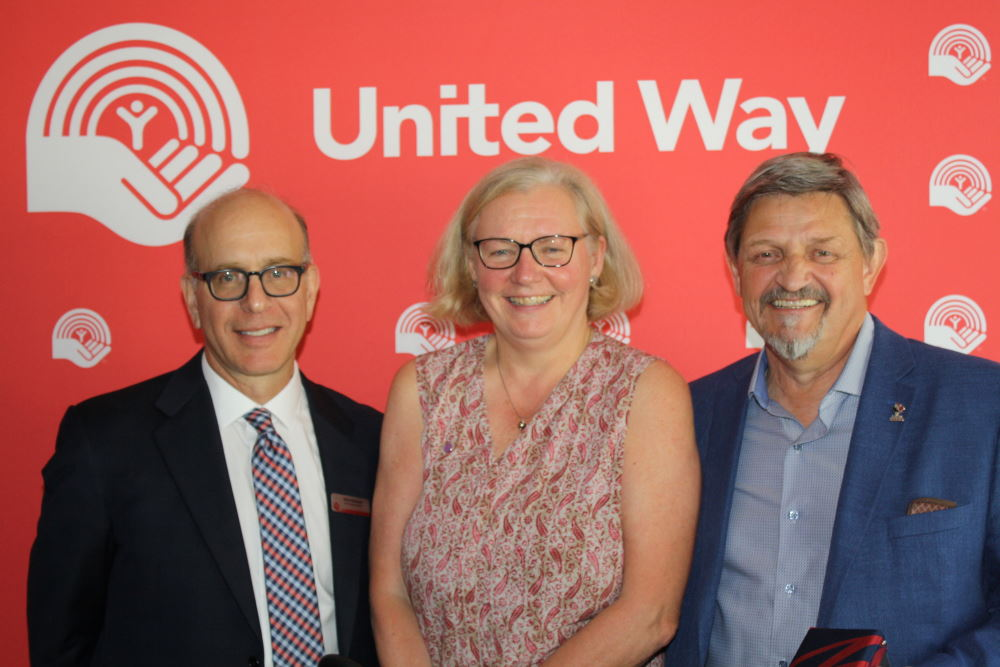 Chris Coleman and Dr. Mary Ellen Purkis Receive United Way Honourary Life Memberships